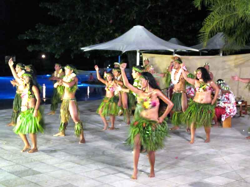 Show polinésico