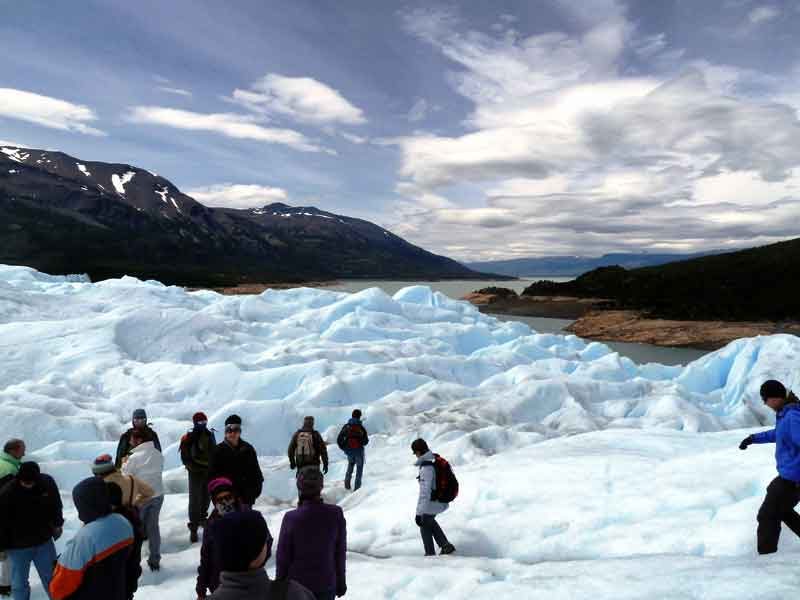 Minitrekking Perito Moreno.