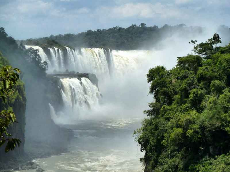 Cataratas de Iguazú.