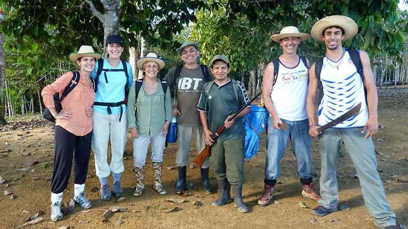 Preparados para adentrarnos en la selva