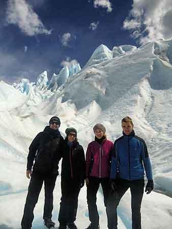Turismo activo en Argentina de Nerea, Izaro, Pedro y José: Minitrekking glaciar Perito Moreno