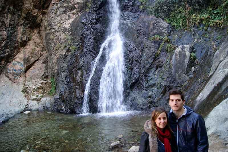 Una cascada en el Valle del Ourika