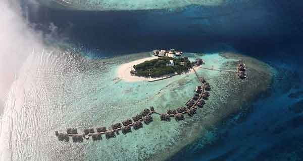 Fin de Año en Sri Lanka y Maldivas - Vista aerea del Adaaran Prestige Vadoo de Maldivas - Foto de los viajeros