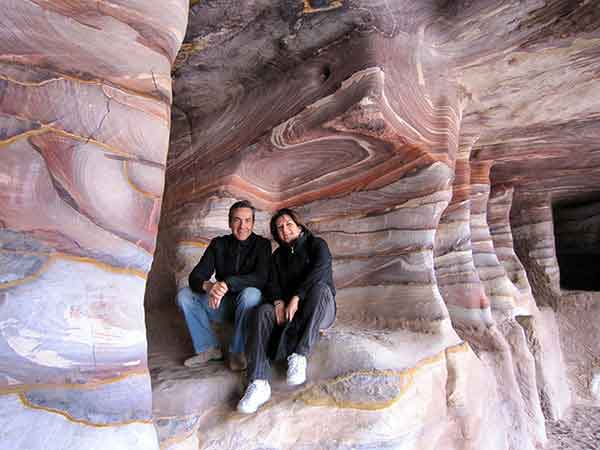 viaje a Jordania en hoteles de lujo y en privado de José Manuel y Mercedes