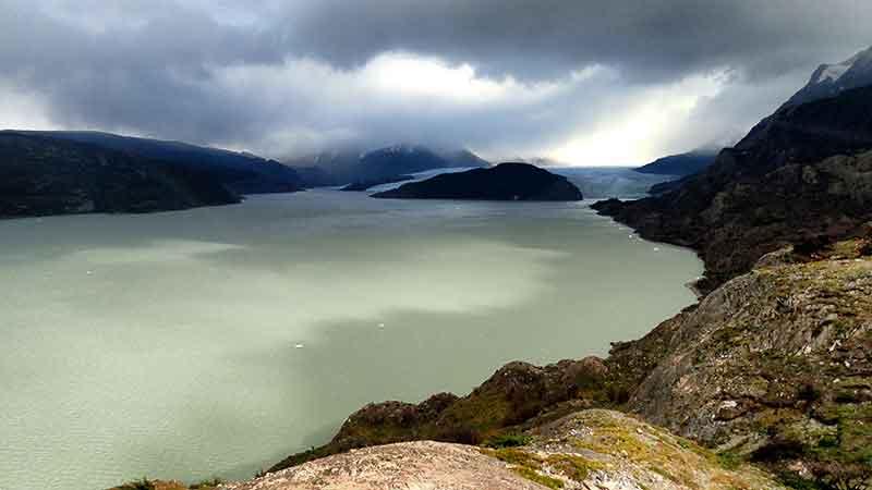 Mirador del Glaciar Grey