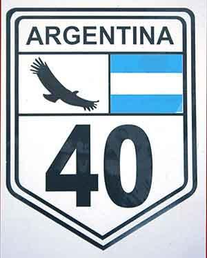 la legendaria ruta 40