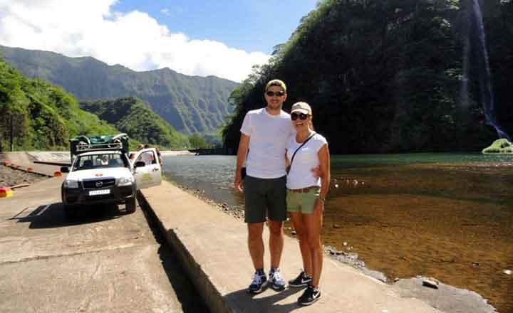 El safari 4x4 al interior de Tahiti - testimonio de viaje a Polinesia
