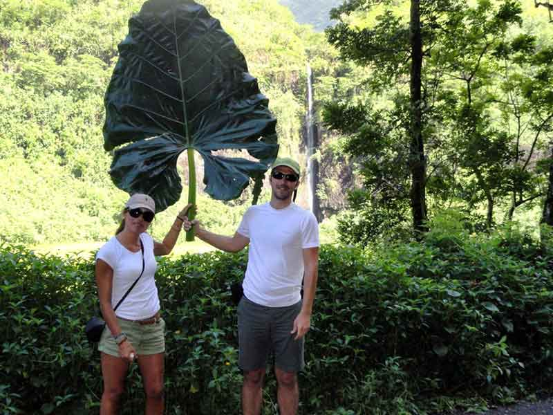 Jorge y Ana en Polinesia