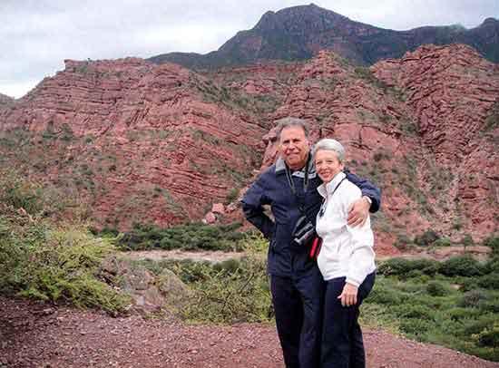 José y Lili, - viaje a Patagonia y Noroeste Argentino