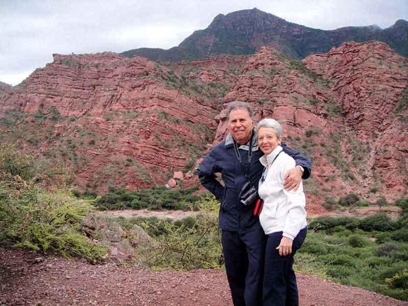 José y Lili en Noreste Argentino