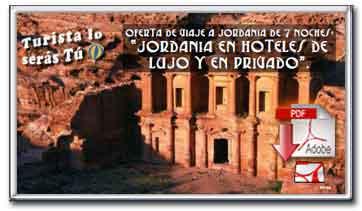 JORDANIA EN HOTELES DE LUJO