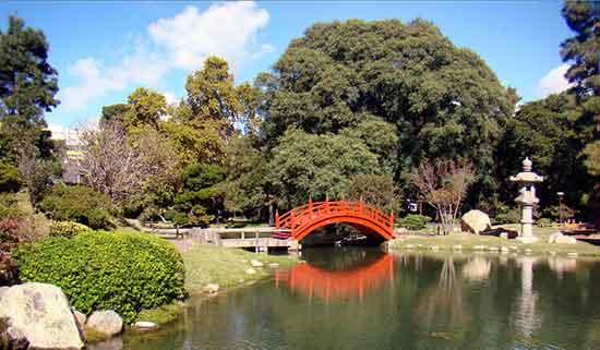 Palermo Zoo - el Jardín Japonés