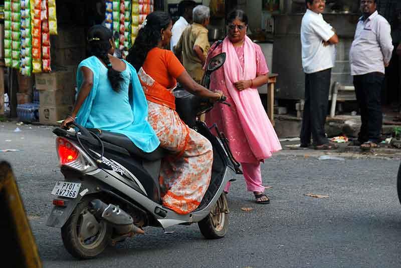 La mujer en India del Sur