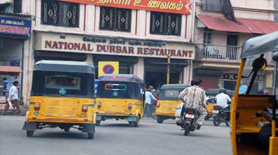 El trafico rodado en India del Sur 2