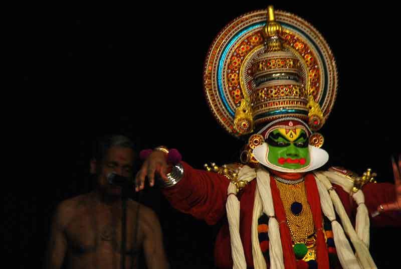 El baile kathakali