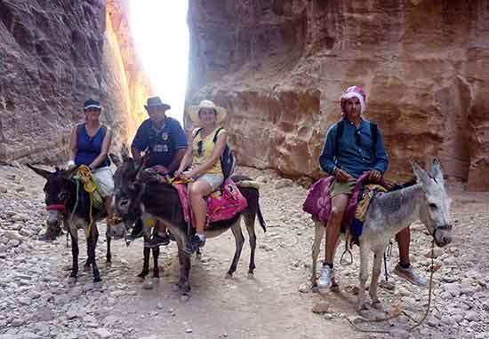 A lo Indiana Jones en Petra.