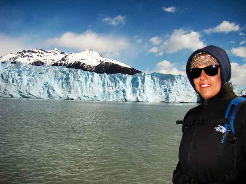Déborah e Iván. Parque Nacional Los Glaciares (Perito Moreno).