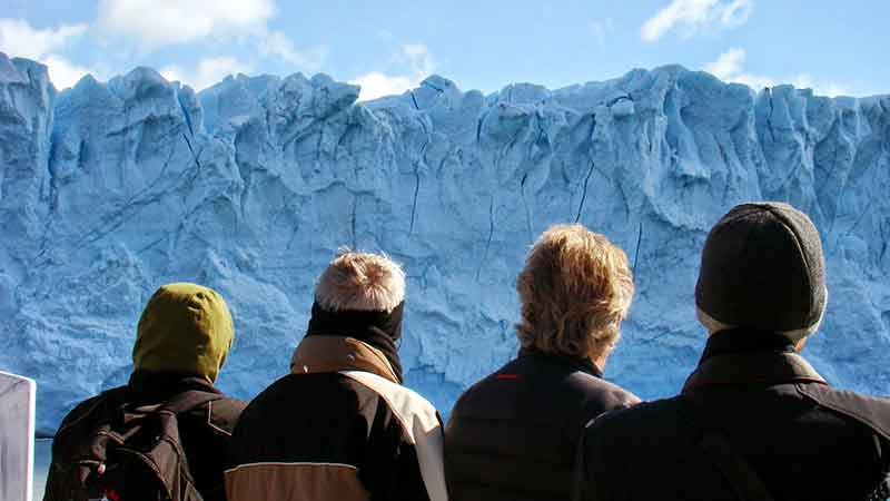 Déborah e Iván. Parque Nacional Los Glaciares.