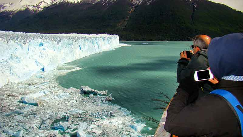 Déborah e Iván. Perito Moreno.