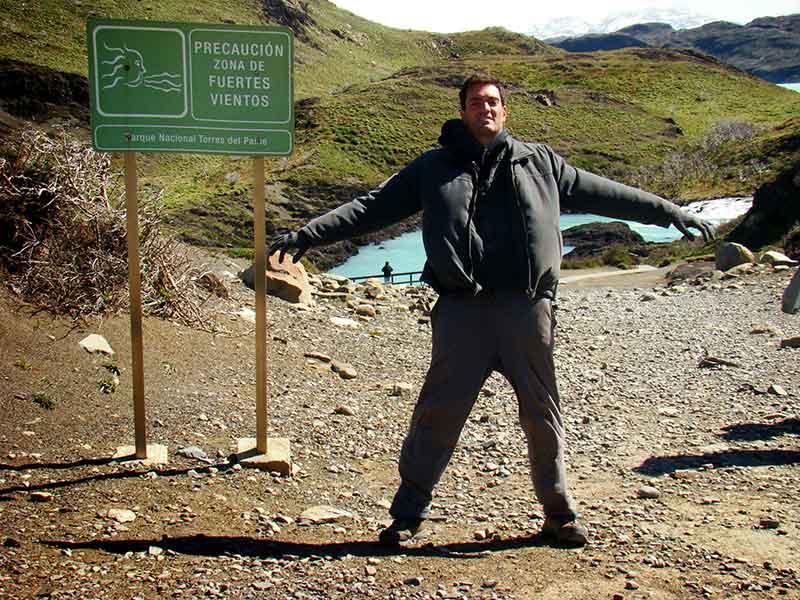 Déborah e Iván. Torres del Paine.