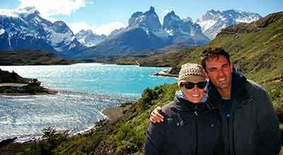 La Patagonia sin fronteras de Déborah e Iván