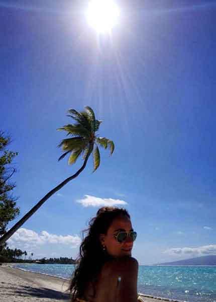 Playa de Tahaa