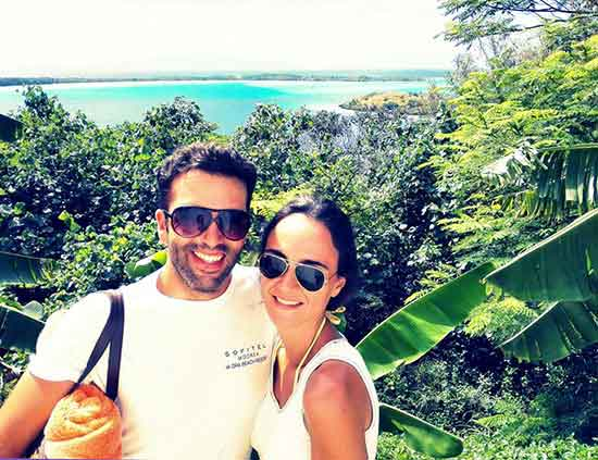 Testimonio de viaje a Polinesia de José Alberto y Cecilia - mirador en Bora Bora