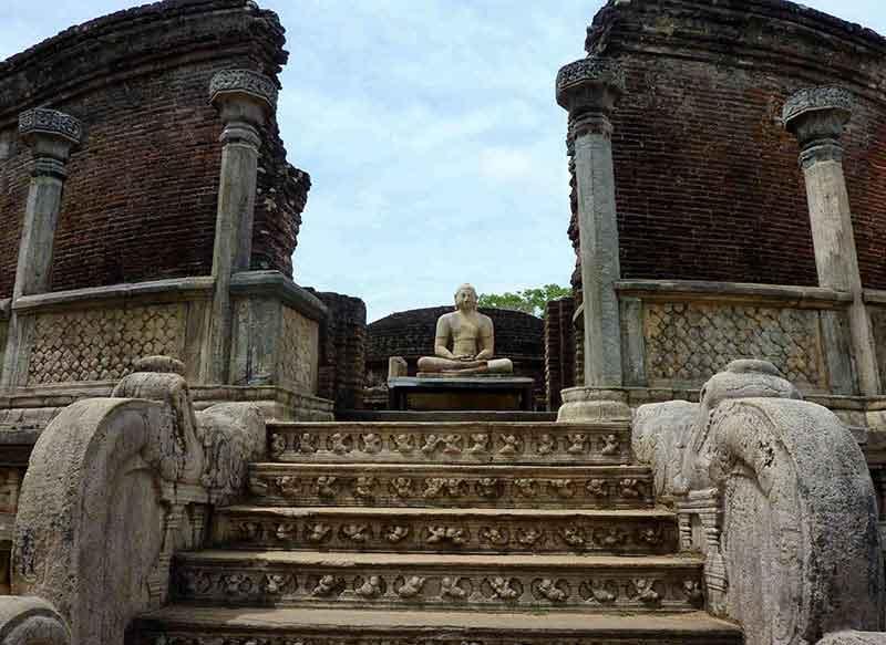 La antigua ciudad de Polonnaruwa