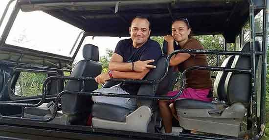Testimonio de viaje a Sri Lanka de Ismael y Patri - jeep safari de Yala -