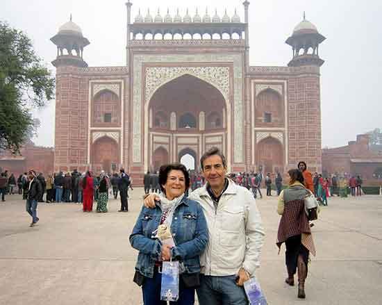 Testimonio de viaje a India en hoteles de lujo de José Manuel y Mercedes - Jama Masjid en Delhi