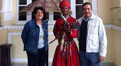 Testimonio de viaje a India en hoteles de lujo de José Manuel y Mercedes
