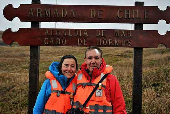 Marta y Juan en Cabo de Hornos - Testimonio de viaje a Argentina y Chile de Marta y Juan