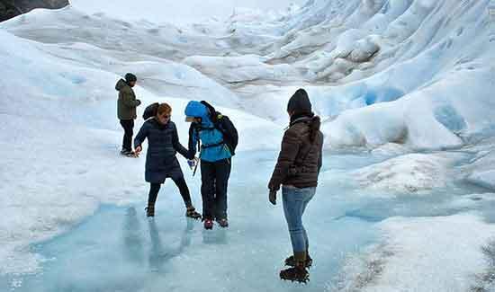 Minitrekking Perito Moreno - Testimonio de viaje a Argentina y Chile de Marta y Juan