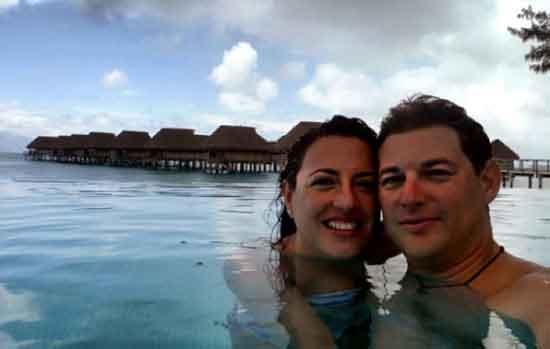 Nacho y Esther- overwater bungalows de Sofitel Ia Ora Moorea - Testimonio de viaje a Polinesia