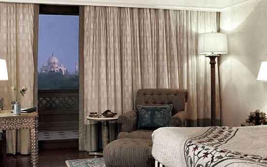 Hotel Oberoi Amarvilas, Agra (Premier Room con balcón)