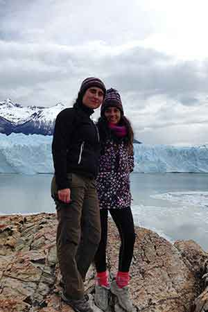 Testimonio de viaje a Argentina de Maria y Cristina - perito moreno
