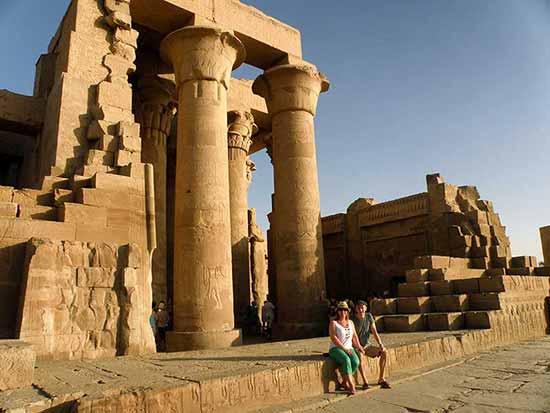 Kom Ombo - Testimonio de Viaje a Egipto de Mikel y Marijo