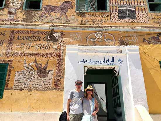 Luxor, orilla occidental - Testimonio de Viaje a Egipto de Mikel y Marijo