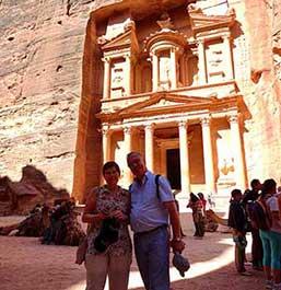 En Petra - Testimonio del viaje a Jordania en privado de Marifé, María y Faust