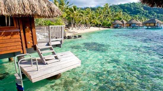 Overwater Bungalow, Le Maitai Polynesia, Bora Bora