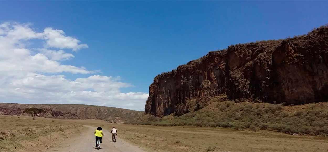 Qué ver en Kenia - Hell's Gate en bicicleta