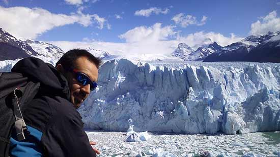 Navegación Lago Argentino - Viaje de novios a Argentina de Lorena y Álvaro