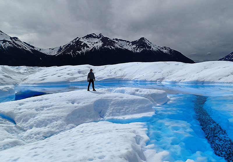 Viaje a Patagonia de Carolina y Alberto: glaciar Perito Moreno