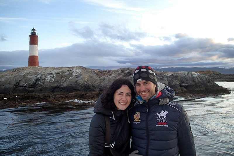 Viaje a Patagonia de Carolina y Alberto: Faro Les Éclaireurs (Ushuaia)
