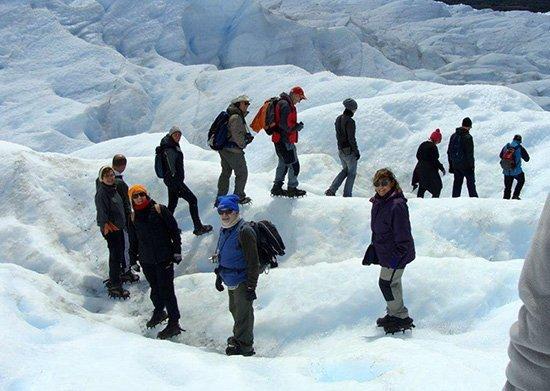 Perito Moreno con minitrekking - el viaje a Argentina de Paz, Encarna, Marisa, Rafael, Nicolás y Jesús