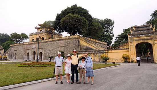Opinión del viaje a Vietnam: Miguel y familia en Hue