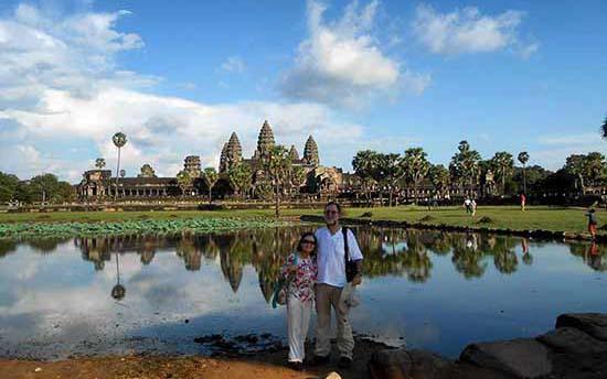 Opinión del viaje a Sudeste Asiático: Miguel y familia en Angkor Wat