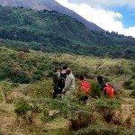 Safari en privado en Tanzania. 2015. Ismael, Patri, Nuria, Miriam y Ramiro.