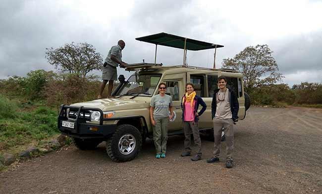 Opinión del Safari en Tanzania: Jeep safari (foto de Ismael y Patri)