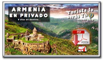 Descargar folleto pdf de viaje a Armenia en privado